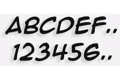 Lettere in Legno mod.51