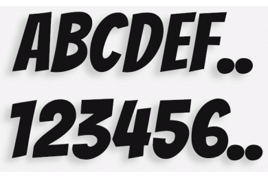 Lettere in Legno mod.52