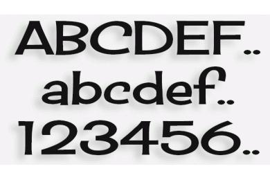 Lettere in Legno mod.53