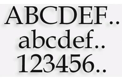 Lettere in Legno mod.03