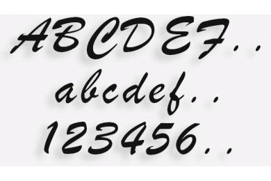 Lettere in Legno mod.05