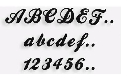Lettere in Legno mod.05b