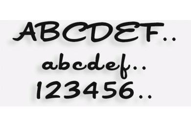 Lettere in Legno mod.05c