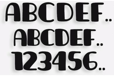 Lettere in Legno mod.16