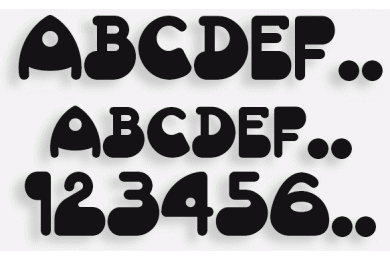 Lettere in Legno mod.23