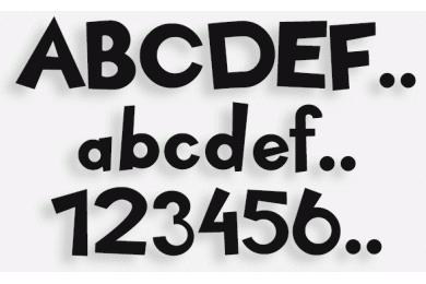 Lettere in Legno mod.24