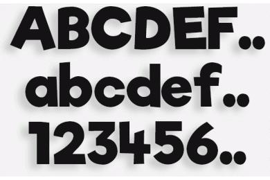 Lettere in Legno mod.26