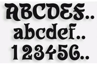 Lettere in Legno mod.33