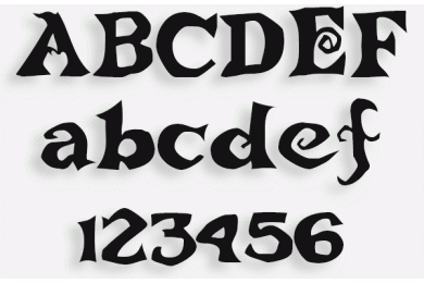 Lettere in Legno mod.37