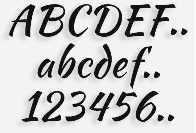 Lettere in Legno mod.77