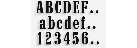 Lettere mod.80