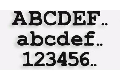 Lettere in Legno mod.81