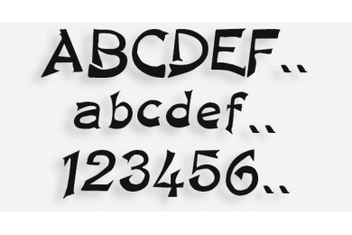 Lettere in Legno mod.83